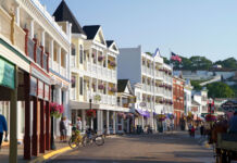 Buildings on Mackinac Island (© David R. Frazier Photolibrary, Inc./Alamy)