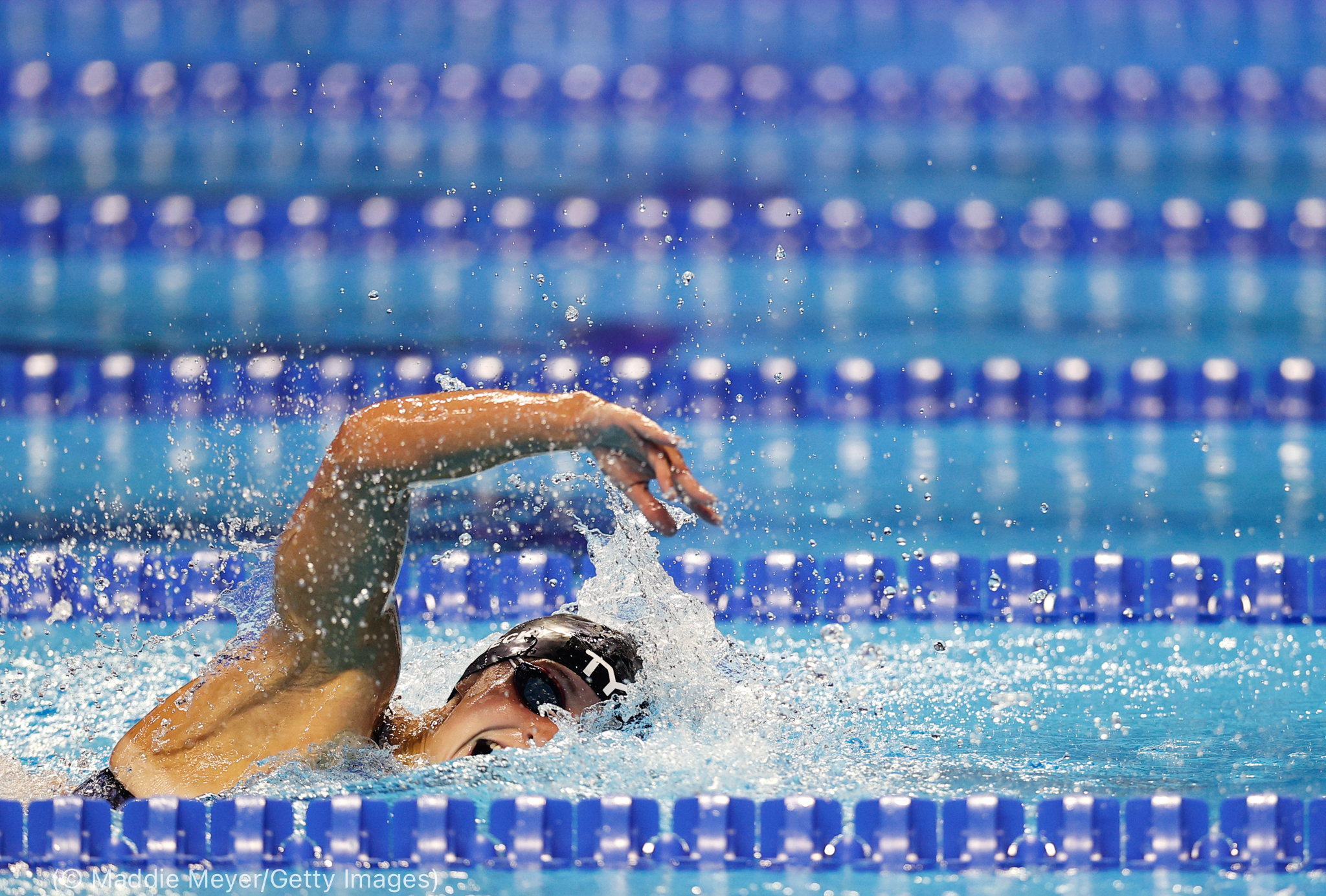 Woman swimming (© Maddie Meyer/Getty Images)